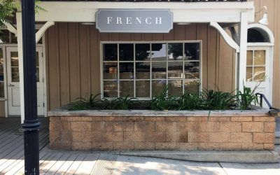 Storefront Sign for Retail Store in Calabasas, CA | French