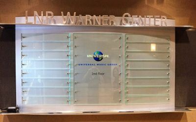 Directory Signs for Office Building in Woodland Hills, CA | LNR Warner Center