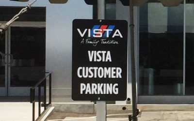 Custom Signs for Auto Dealership in Woodland Hills, CA | Vista Ford