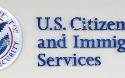 Custom Wall Sign for Government Office in Los Angeles, CA | USCIS