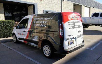 Custom Vehicle Graphics for Cleaning Service in Los Angeles, CA | Enviro-Master