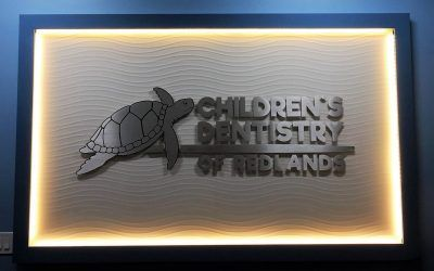 Indoor Signs for Dentist's Office in Redlands, CA | Children's Dentistry of Redlands