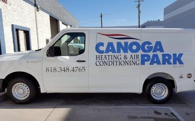 Car Graphics for Canoga Park Heating & Air Conditioning