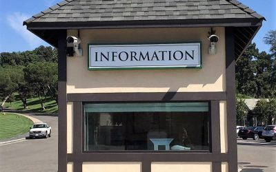 Illuminated Cabinet Sign for Memorial Park in Glendale, CA | Forest Lawn