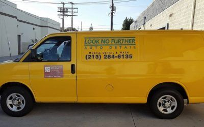 Van Graphics for Car Detailing Service in Los Angeles, CA | Look No Further Auto Detail