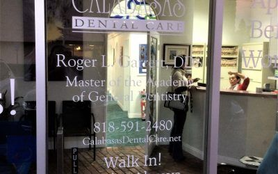 Storefront Graphics for Dentist Office in Calabasas, CA | Calabasas Dental Care