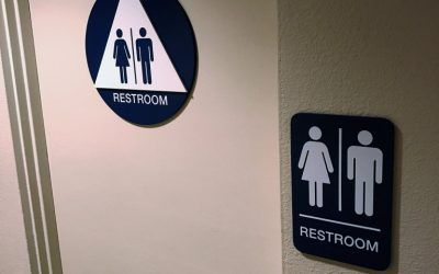 ADA Compliant Unisex Restroom Signs for Multiple Locations in Los Angeles, CA