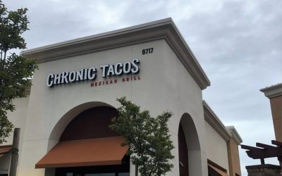 Outdoor Signage for Mexican Restaurant in Fresno, CA | Chronic Tacos