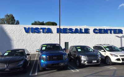 Sign Restoration for Auto Dealership in Woodland Hills, CA | Vista Ford