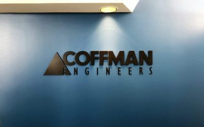 Indoor Logo Sign for Structural Engineering Company in San Diego, CA | Coffman Engineers