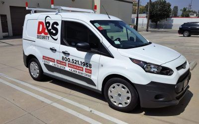 Vehicle Advertising for Security System Supplier in Los Angeles, CA | D&S Security