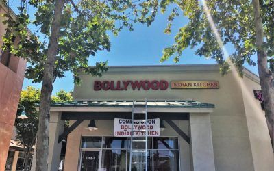 Custom Building Signage for Indian Restaurant in Simi Valley, CA | Bollywood Indian Kitchen
