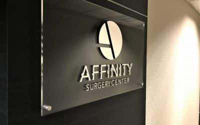 Logo Sign for Surgery Center in Encino, CA | Affinity Surgery Center