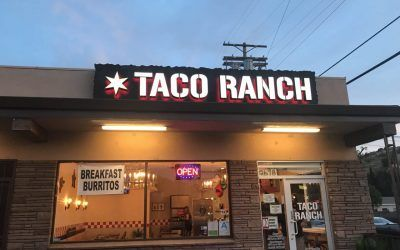 Building Signs for Mexican Restaurant in Shadow Hills, CA | Taco Ranch