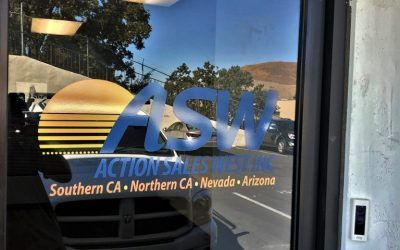 Window Graphic for Confectionery Broker in Calabasas, CA | Action Sales West