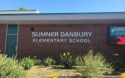 Building Signage for Elementary School in Claremont CA | Sumner Danbury Elementary School