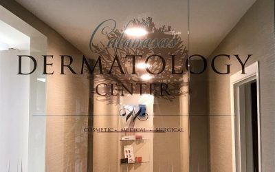 Custom Vinyl Interior Design for Dermatology Office in Calabasas, CA | Calabasas Dermatology