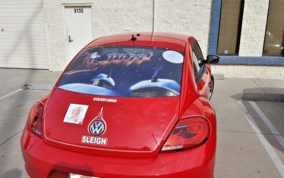 Vehicle Window Graphics for Santa in San Fernando Valley, CA