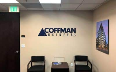 Logo Signs for Structural Engineering Company in Orange County, CA | Coffman Engineers
