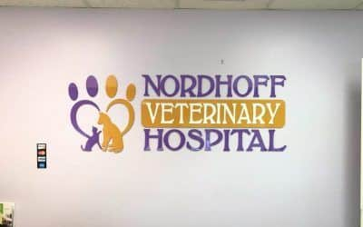 Lobby Sign for Veterinary Hospital in Chatsworth, CA | Nordhoff Veterinary Hospital