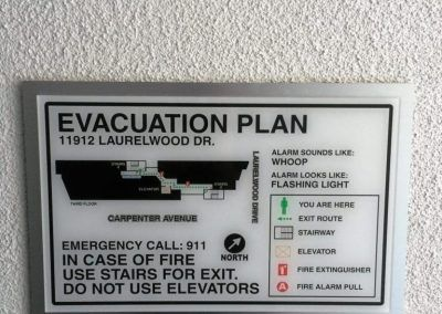 Evacuation Map Signs-min