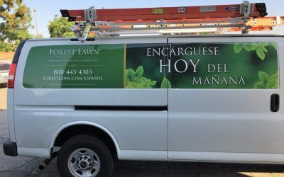 Van Graphics for Cemetery in Los Angeles, CA | Forest Lawn Memorial Park