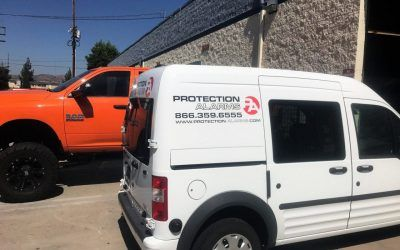 Vehicle Graphics for Burglar Alarm Company in Chatsworth, CA | Protection Alarms