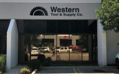 Commercial Building Sign for Tool Store in Chatsworth, CA | Western Tool & Supply