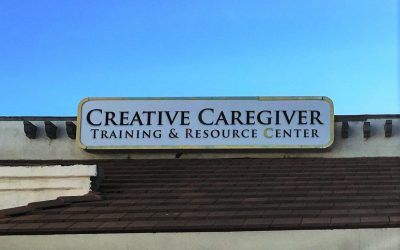 Storefront Sign Update for Caregiver Training Facility in Chatsworth, CA
