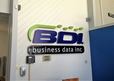 Office Logo Sign for Digital Printing Service in Inglewood, CA
