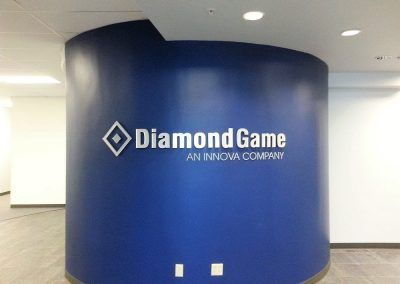 Custom Commercial Signage for Diamond Game Enterprises in Chatsworth, CA