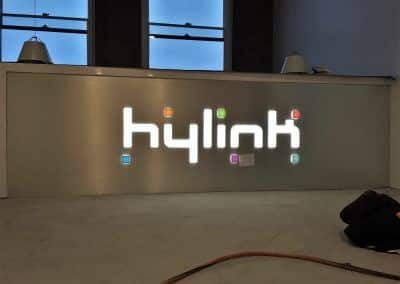 Lighted Commercial Signs for Hylink in Los Angeles, CA