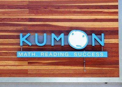 Channel Sign Letters for Kumon in Downey, CA