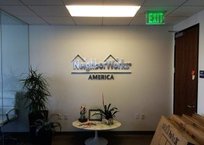 Commercial Sign Manufacturing for NeighborWorks America in Los Angeles, CA