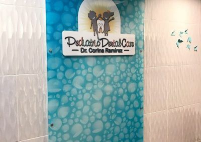 Custom Acrylic Sign for Pediatric Dental Care in San Dimas, CA