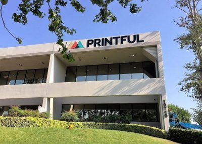 Professional Building Signage for Print Shop in Chatsworth, CA