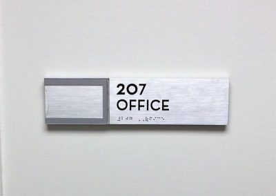 Professional Office Door Signs for Office Building in Los Angeles, CA