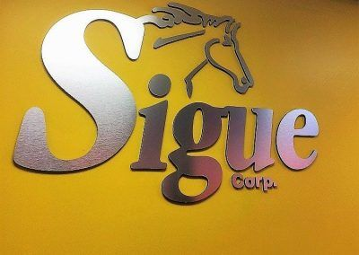 Custom Commercial Sign Fabricators for Sigue in Los Angeles, CA