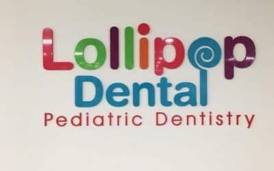 Interior Logo Sign for Lollipop Dental in Garden Grove, CA