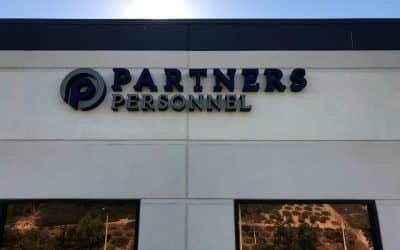 Attracting New Customers with Signage for Employment Company in Valencia, CA
