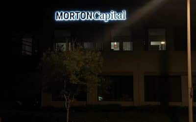 Reverse-lit Channel Letters for Wealth Advisors in Calabasas, CA