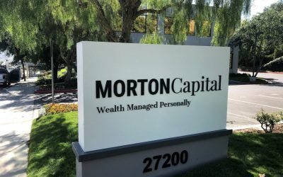 Outdoor Sign Update for Morton Capital Management in Calabasas, CA