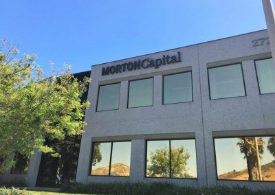 Signage for Commercial Buildings for Morton Capital Management in Calabasas, CA