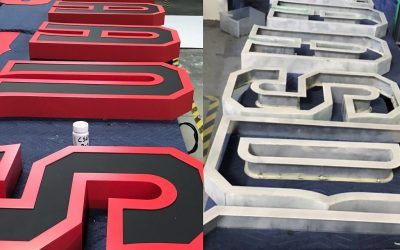 Trimcap-less Channel Letters for University in Northridge, CA
