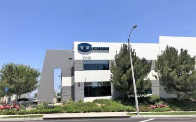 Building Letter Sign for AS Aerospace in Santa Clarita, CA