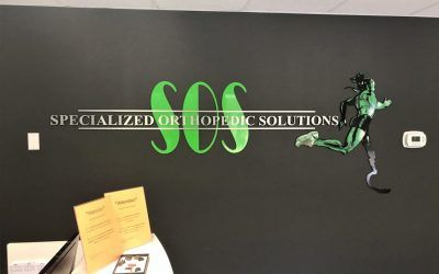 Logo Sign for Specialized Orthopedic Solutions in Chatsworth, CA