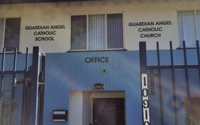 Custom Made Signs for Catholic School in Pacoima, CA