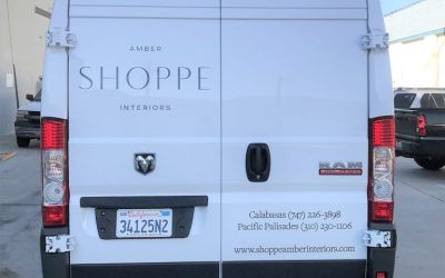 Vehicle Graphics for Design Studio in Los Angeles, CA