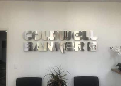 Office Lobby Sign for Coldwell Banker in Moorpark, CA