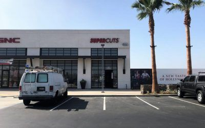 New Storefront Sign for Supercuts in Rialto, CA